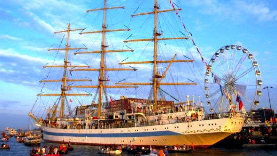 Sail Amsterdam парад кораблей Амстердам