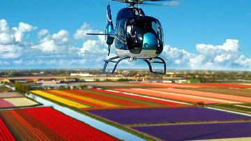 полет на вертолете Нидерланды