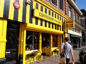 Старейший кофешоп Амстердама