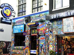 Самый старый кофешоп Амстердама
